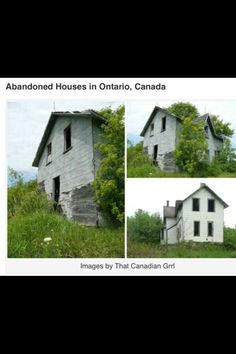 Abandoned in Ontario Canada