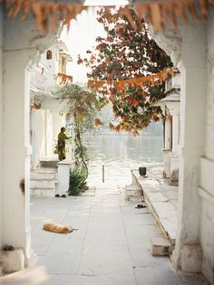 Ghat's of Udaipur by A.Jacona