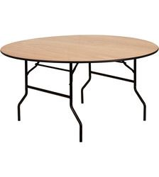 6'Round Banquet Table