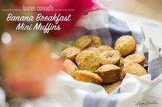 Recipe Box: My Banana Breakfast Mini Muffins