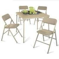 Furniture tables on pinterest steel folding tables for Table locks acquired immediately 99