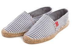 Gray Stripe Women's Drilleys, my 2014's summer shoes ^.^