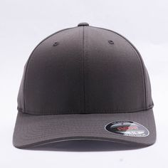 Wholesale Flexfit/Yupoong 6277 Flexfit Wooly Combed Hat [Dark Grey]