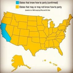 California knows how to party.