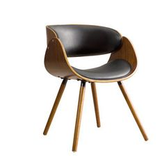 Shop for Corvus Walnut and Black Mid Century Bentwood Accent Chair. Get free shipping at Overstock.com - Your Online Furniture Outlet Store! Get 5% in rewards with Club O!