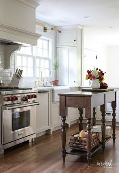 Bayberry Kitchen Remodel Reveal - Kitchen Makeover Kitchen Design #kitchen #makeover #remodel #traditional #modern #country #design #decorating Update Kitchen Cabinets, Diy Cabinets, Painting Kitchen Cabinets, Kitchen Paint, Kitchen Shelves, Kitchen Redo, Kitchen Ideas, White Cabinets, Kitchen Designs