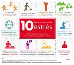 10 formas de combatir el #estres tips #vida #saludable www.pinterest,com/imeba