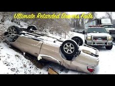 Ultimate Retardet Drivers Fails, Extreme Driving Fails And Sounds Winter...