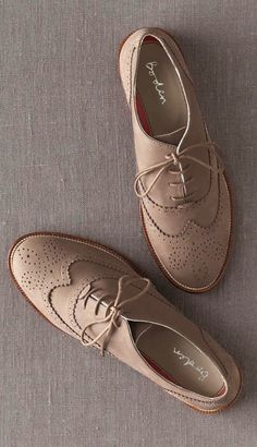 Brogues are an absolute must have ♥