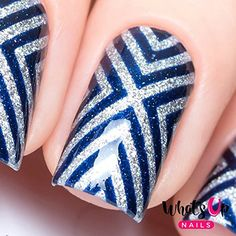 Whats Up Nails  Xpattern Nail Stencils Stickers Vinyls for Nail Art Design 1 Sheet 12 Stencils -- Click image to review more details.Note:It is affiliate link to Amazon.