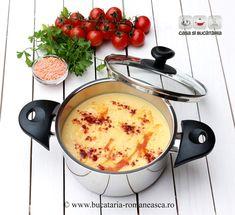 Supa crema de linte rosie Cheeseburger Chowder, Soup Recipes, Soups, Easy Meals, Favorite Recipes, Simple, Food, Essen, Soup