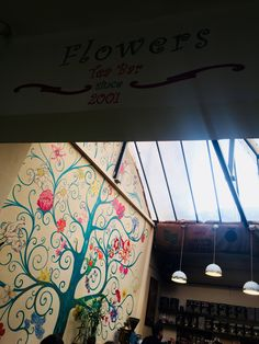 #flowersteahouse #Romania #art #flowers #colors #tree #free