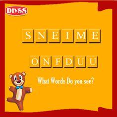 #Divss #BrainTeasure- What words do you see?