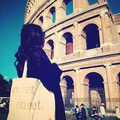 Meet around the world!! #meet  #roma #rome  #coliseo  #conceptstore #condeduque #condeduquegente by themeetshop