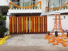 Home Main Gate Indian Wedding Decorations Simple Wedding Stylish Simple Wedding … - Modern Gate Decoration, Decoration Entree, Entrance Decor, Main Entrance, Main Gate, House Entrance, School Entrance, Desi Wedding Decor, Simple Wedding Decorations