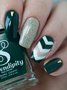 Paulina's PassionsSerendipity Polish Call Me Boss Lady Swatches and Nail Art