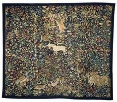 Tapestry Place of origin: Flanders (made)  Date: ca. 1500 (made)  Artist/Maker: Unknown (production)  Materials and Techniques: Tapestry woven in wool and silk