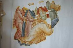Icon Clothing, Church Interior, Byzantine Icons, Faith, Painting, Design, Clothes, Painting Art, Paintings