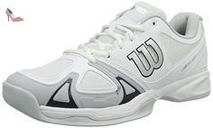 competitive price 6de95 23297 Wilson Rush Evo Carpet Wh Pearl Blue Ny, Chaussures de Tennis Homme  Amazon. fr  Chaussures et Sacs