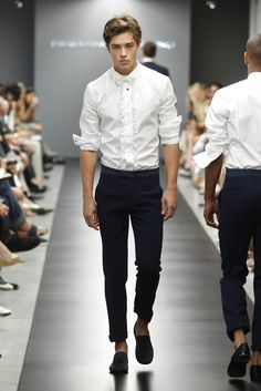 Francisco Lachowski @ Ermanno Scervino F/W 2011 Menswear Francisco Lachowski, Look At You, How To Look Better, Just For You, Alli Simpson, High Fashion, Mens Fashion, Office Fashion, Milan Fashion