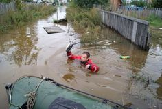 More flooding feared as waters rise in Russia's Far East #poisonedweather #climate