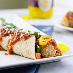 A fun and healthy take on the basic Italian hoagie! Try Skinny Mom's Zesty Italian Meatball Wrap on a delicious Flatout® Light Italian Flatbread!