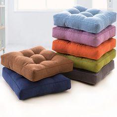 Square Cotton Seat Cushion  Price: 19.04 & FREE Shipping  #hashtag3 Car Seats, Ottoman, Free Shipping, Furniture, Home Decor, Style, Handmade, Modern