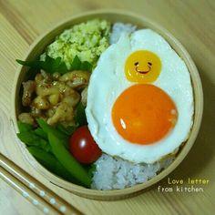 Darhma fried egg. 目玉焼きだるまのお弁当。| ウーマンエキサイト みんなの投稿