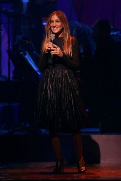 Hillary Clinton New York Broadway Concert - Sarah Jessica Parker sings for Hillary Clinton | British Vogue
