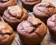 Epicure's Chocolate Cupcakes Menu Desserts, Healthy Dessert Recipes, Easy Desserts, Muffins Au Café, Coffee Muffins, Cupcakes Au Cholocat, Coffee Cupcakes, Dessert Simple, Brownies Sains