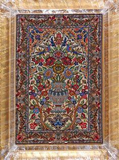 Esfahan Persian Rug, Buy Handmade Esfahan Persian Rug 2 4 x 3 4, Authentic Persian Rug $1,565.00