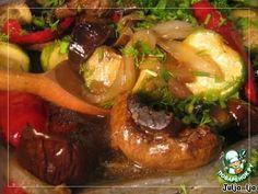 Запечeнные овощи во вкуснейшем маринаде ингредиенты