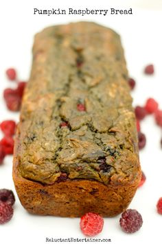 pumpkin raspberry bread