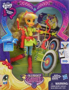 Applejack Friendship Games Sporty Style Deluxe Archery Equestria Girls Doll