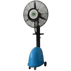Ce brumisateur d'air est idéal pour rafraichir une terrasse de 30 m2, en vente au meilleur prix uniquement chez euro-expos : http://www.euro-expos.net/rafraichisseurs-brumisateurs-386/brumisateur-ventilateur-air-mobile-terrasse-restaurant-2640.html