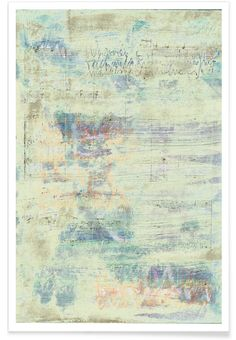 Transcriptions 08 als Premium Poster von József Gábos | JUNIQE