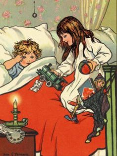 scott bessine | Christmas Morning Rosa Petherick (1871 – 1931, English)