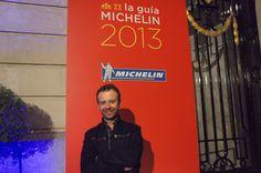 @NachoManzano disfrutando de sus 2 Estrellas!! En la Puerta del Ritz de Madrid 22/11/2012