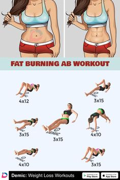 Fitness Workouts, Abs Workout Routines, Gym Workout Tips, Fitness Workout For Women, At Home Workout Plan, Body Fitness, Workout Videos, Workout Exercises, Workout Abs