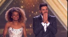 Meet your finalists:Fleur and Ben could not hold back their joy at making it to the live final on Sunday night and Simon Cowell was certainly ecstatic at having both his acts go through