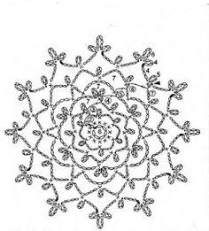 Crochet tunic — Crochet by Yana Crochet Circle Pattern, Crochet Motif Patterns, Crochet Circles, Crochet Diagram, Crochet Chart, Crochet Wool, Crochet Tunic, Thread Crochet, Irish Crochet