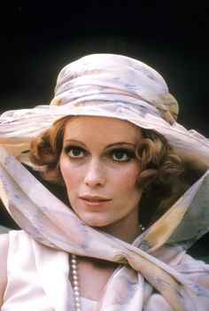 Mia Farrow in THE GREAT GATSBY (1974) way better than the modern day version