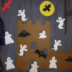 Gespenster, Hexen und Geister als gruselige Halloween-Dekoration basteln. Große Sammlung an Bastelanleitungen für eine schaurige Halloween-Party.