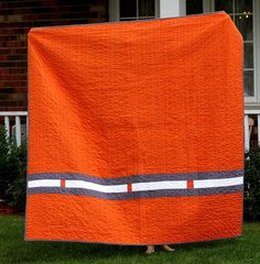 Back of UT quilt | Flickr - Photo Sharing!