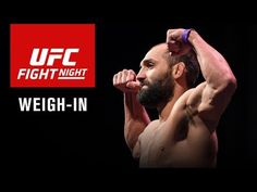 UFC Fight Night 82: Hendricks vs. Thompson Official weigh-in video and results   FIGHTBOOK MMA