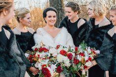 Shealyn + Paul's Cozy Winter Wedding at Hotel du Village » Alison Leigh Photography #alimohn