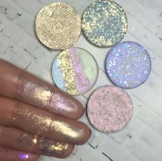 But are you even a unicorn if you don't have a shimmery rainbow highlighter? Image via @gemwrightbeauty.