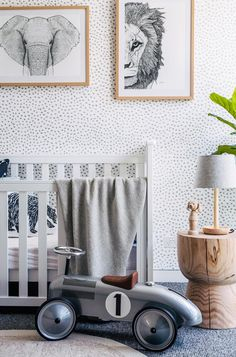 How to decorate a gender-neutral nursery