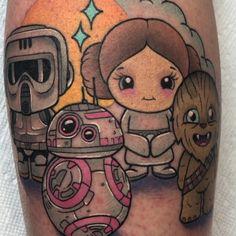 Fun Star Wars piece for Alex 💫 Thank you!