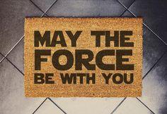 Star Wars Inspired Welcome Doormat coconut - Star Wars Gift